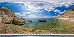 отдых в Крыму: пляж Затерянный мир