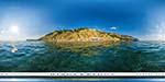 отдых в Крыму: Золотой пляж в Балаклаве - вид с моря