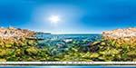 отдых в Крыму: дикий пляж в Казачьей бухте