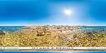 отдых в Крыму: пляж у Маяка в Казачьей бухте