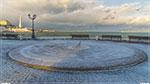 отдых в Крыму: Снегу навалило, немножко...