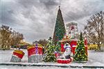 отдых в Крыму: новогодний снежный Севастополь