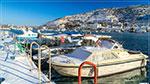 отдых в Крыму: снежный день в Балаклаве