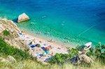 отдых в Крыму: Пляж Васили в июле.