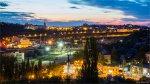 отдых в Крыму: Городские огни Севастополя. Вид с Красной горки.