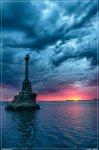 отдых в Крыму: июньский закат в Севастополе