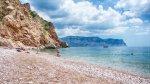 отдых в Крыму: Пляж Васили в Балаклаве.