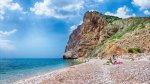 отдых в Крыму: Пляж Васили. Балаклава. Севастополь.