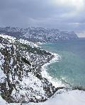 отдых в Крыму: Серебряный пляж и мыс Ая (зима)