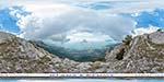 отдых в Крыму: вид на Алупку с плато Ай-Петри