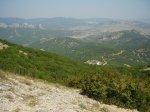 отдых в Крыму: Вид с горы Эчкидаг