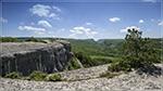 отдых в Крыму: Вид со сфинксов горы Узун-Тарла на Каралезкую долину.