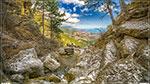 отдых в Крыму: речка Учан-Су, начало водопада Учан-Су