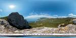 отдых в Крыму: бухта Ласпи: гребень Деликли-Бурун или Лягушка