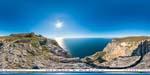 отдых в Крыму: гора Кокия-Кала: вид на пляж