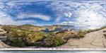 отдых в Крыму: береговая батарея № 19 - вид на Балаклаву
