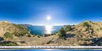 отдых в Крыму: над Серебрянным пляжем