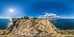 отдых в Крыму: скала Мытилино - высшая точка