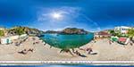 отдых в Крыму: центральный пляж Балаклавы