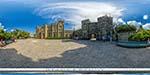 отдых в Крыму: Воронцовский дворец в Алупке: северный фасад