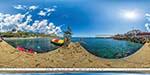 отдых в Крыму: пляж в Кацивели