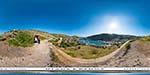 отдых в Крыму: гигапиксельный вид на Балаклаву