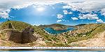 отдых в Крыму: крепость Чембало в Балаклаве: гигапиксельная панорама