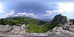 отдых в Крыму: Симеиз: вид с горы Кошка