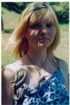 отдых в Крыму: фото с медянкой